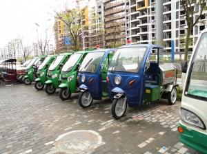 电动三轮高桶垃圾车