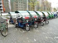 电动三轮低桶垃圾车